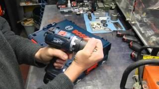 Bosch GSR 18 V-EC mit Röhm-Futter - der erste Eindruck