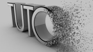 Cinema 4D - Particles To Text Transition