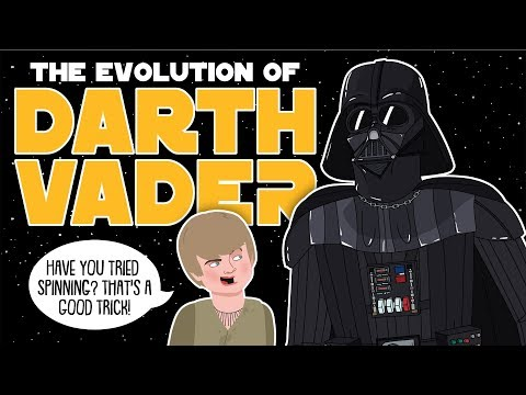 The Evolution Of Darth Vader / Anakin Skywalker (Animated)