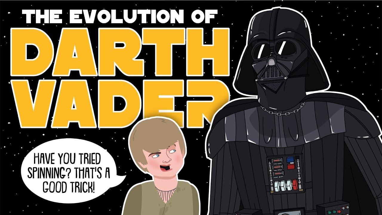 Download The Evolution Of Darth Vader / Anakin Skywalker (Animated)