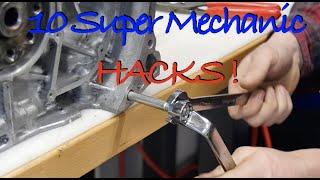 10 Super Mechanic Hacks ! l You must know l Subi-Performance
