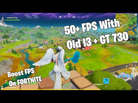 How To RUN FORTNITE On LOW-END PC !!! BOOST FPS On Fortnite 2020!!!!!