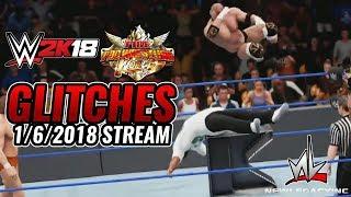 nL Highlights - WWE 2k18 + FIRE PRO! (1/6/2018 Stream)