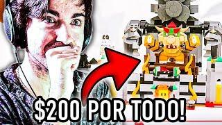 TE CUENTO QUE: SUPER MARIO LEGO CUESTA $200 TODO JUNTO! 😱