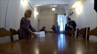 Как снять видео на закрытом заседании комиссии
