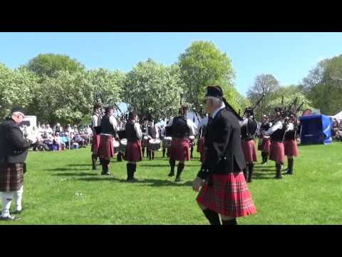 Aughintober Pipe Band @ Ards & North Down Pipe Band Championships 2016