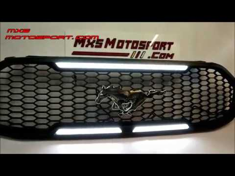 V1814 Ford Endeavour Mustang Style Daytime LED Grill 2016+ by MxsMotosport
