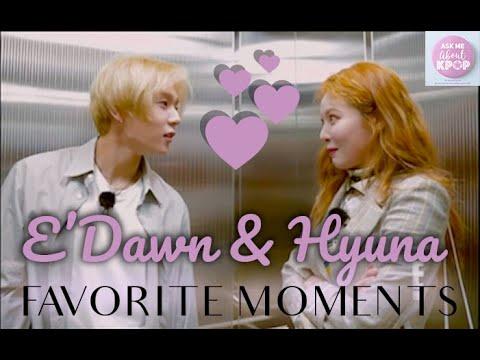 Hyuna & Dawn - Favorite Moments [ENG SUB]