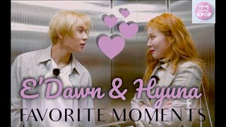 Hyuna & Dawn - Favorite Moments [ENG SUB]