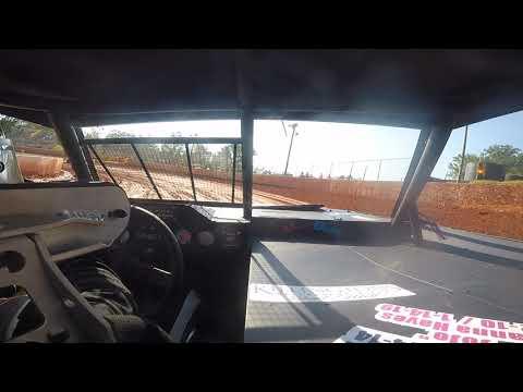 East Lincoln Speedway 6-29-19 Pro 4 Front Cam Hot Laps #1 Alexus Motes