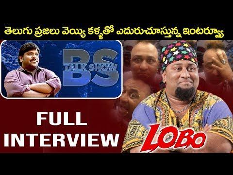 Anchor & Artist LOBO Interview   Full Interview   BS Talk Show   Top Telugu TV