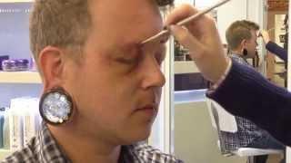 Basic Black Eye Demonstration with Kryolan Bruise Wheel