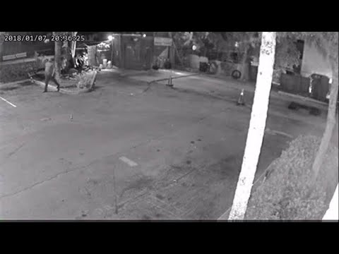 Armed robber caught on camera prior to being shot by police in Lauderhill