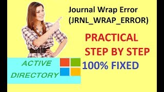 journal wrap error   Event ID: 13568   How to fix Journal Wrap errors (SOLVED)