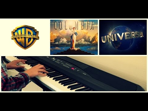 MOVIE INTROS ON PIANO | Warner Bros, Columbia Pictures, Universal Studios