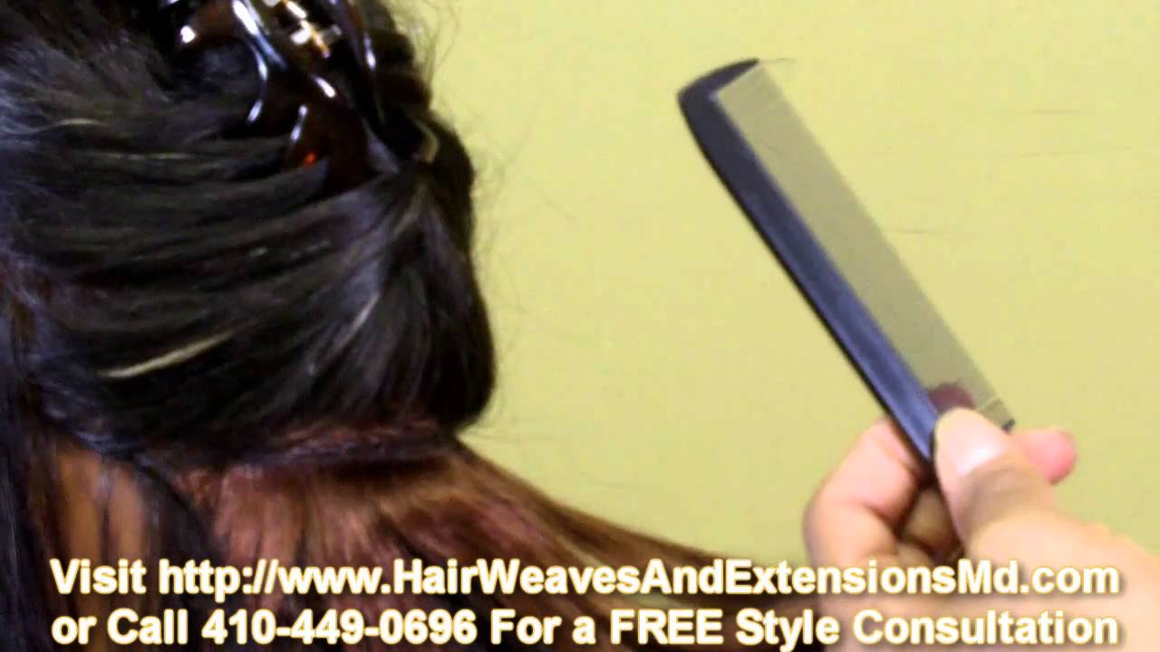 Sew In Row Weave Baltimore Md Youtube