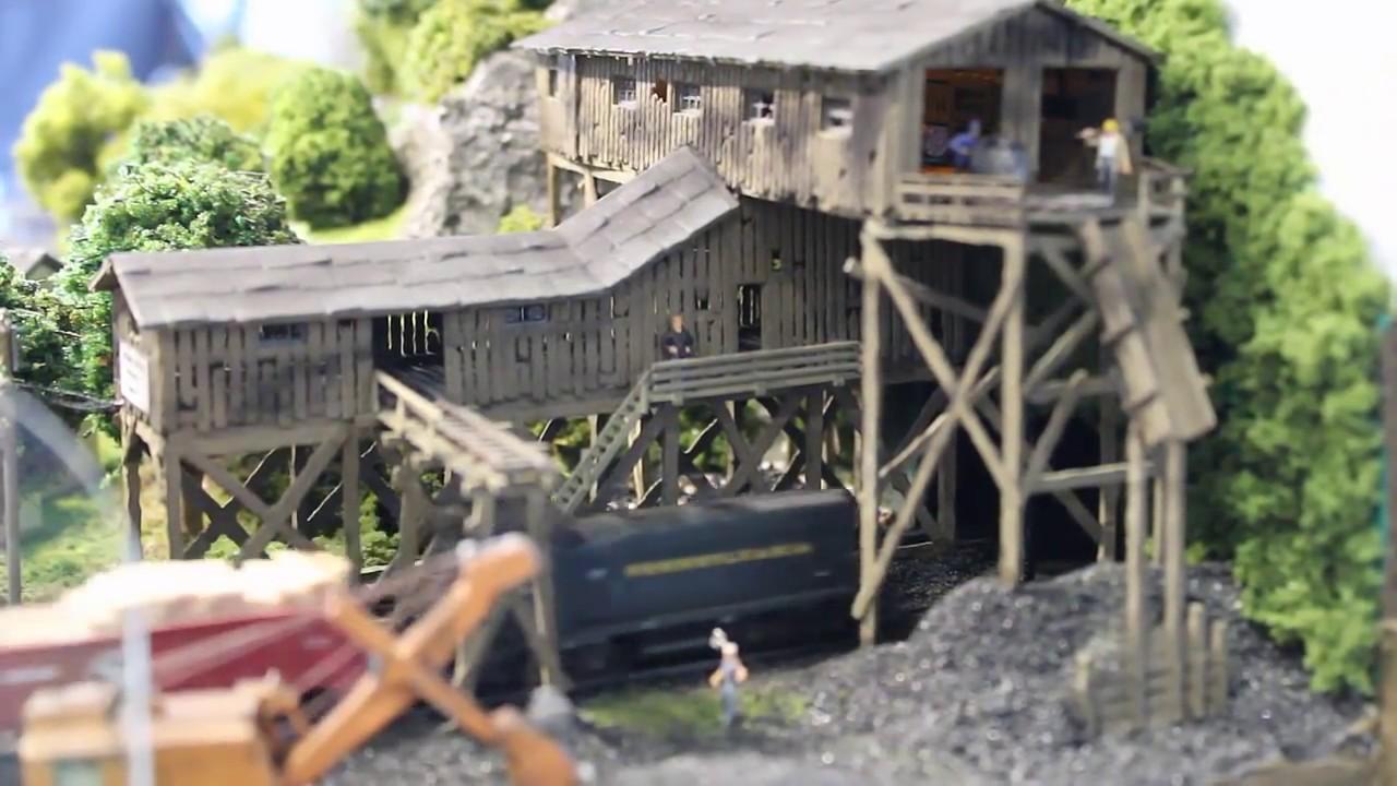 Spur N Modellbahn (1:160) - Grumpy Valley Mining Company - YouTube
