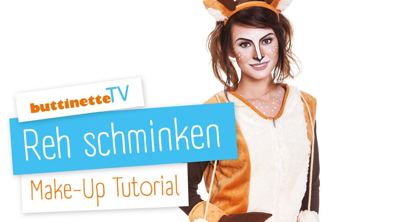 Reh Schminken Tutorial Buttinette Tv Make Up Tutorial Youtube