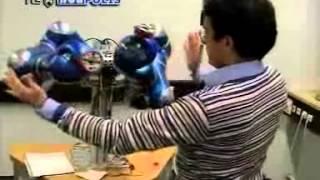 Prof. B. Siciliano intervista DEXMART Kick Off Meeting - TG3 Nea Polis - 12 Feb 2008