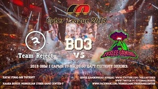 Team Хүннү vs Team No Pa & Mag | Cyber League 2019 Dota 2 | Шилдэг 4