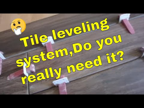 When And Why Use A Tile Leveling System Especially For Cheap Bowed Tiles Youtube