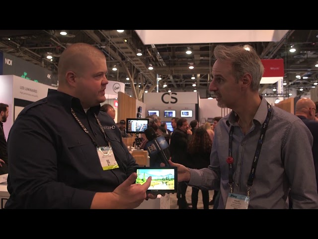 SmallHD: #NABShow Video Entèvyou