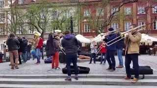 Flashmob Rynek Nowego Miasta - Warszawa