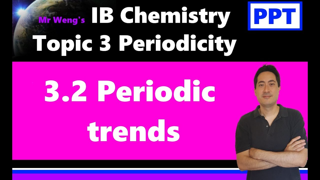 Ib Chemistry Topic 3 Periodicity 3 2 Periodic Trends