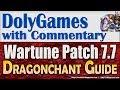 Wartune Patch 7.7 - new DRAGONCHANT Tabs, TALISMANS, Symbiosis, Battle Beast