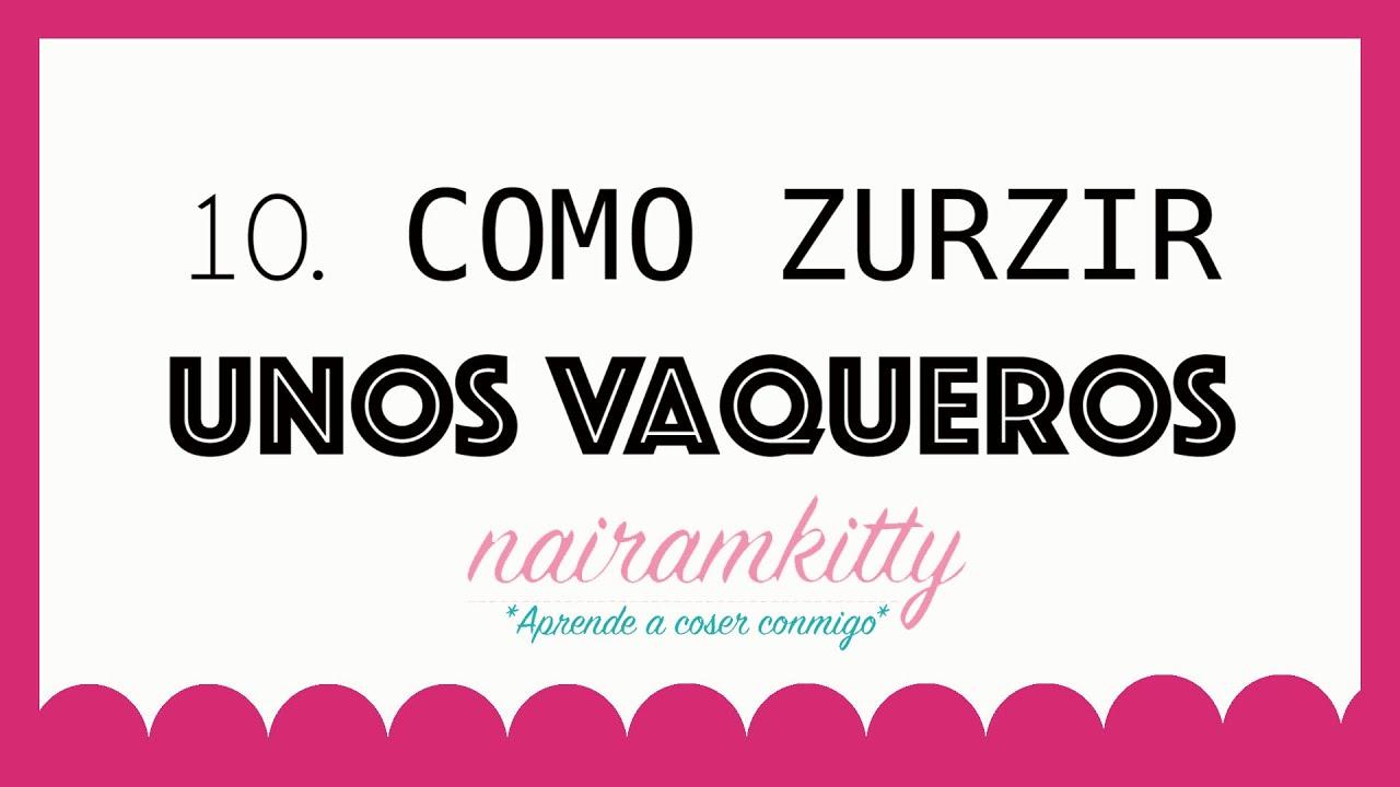 10. CURSO ONLINE APRENDE A COSER A MÁQUINA: COMO ZURZIR UNOS ...