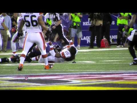 Josh Cribbs Gets Hit HARD - Browns at Ravens 2012 [HD]