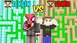 ZENGİN LABİRENTİ VS FAKİR LABİRENTİ! 😱 - Minecraft
