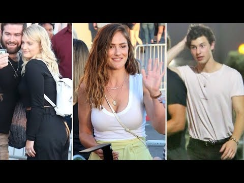 The Stars Love Harry Styles!: Shawn Mendes, Minka Kelly, Meghan Trainor And More!