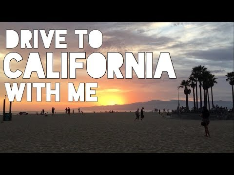 Cross Country Road Trip Vlog | PA to CA