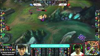 《LOL》2015 LMS 夏季聯賽 W3D1 FW vs HKE Game1