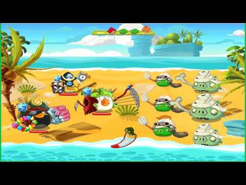 Angry Birds Epic: Gameplay Friendship Gate (Wave Battle: Eastern Cobalt Plateaus 7-8)