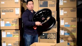 RAYS Wheels VOLK Racing CE28RT Black Edition Review & Weight