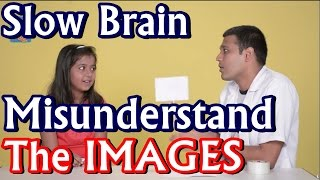 Is our brain to slow to misunderstand the images? Kids Science Experiments
