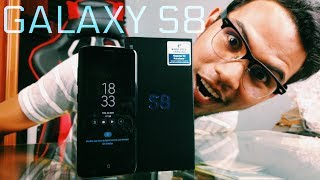 Unboxing Samsung Galaxy S8!! | Malaysia