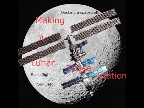 Docking Spacecraft With My Lunar Space Station