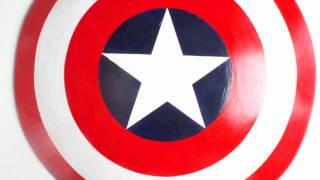 How To: Captain America Handmade Shield Walk Through