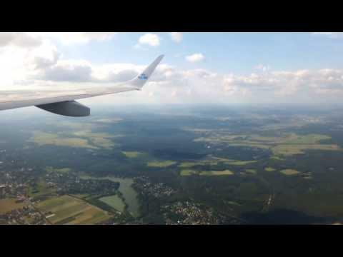 Berlin Tegel Airport Flight Cruise View