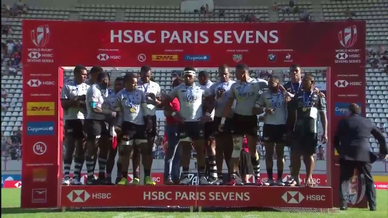 Fiji clinch World Rugby Sevens Series title in Paris
