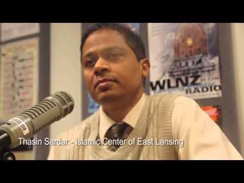 Thasin Sardar of the Islamic Center of East Lansing on LCC Radio