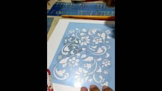 Como limpar stencil