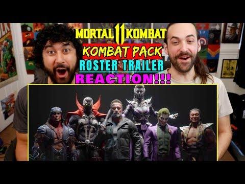 MORTAL KOMBAT 11 Kombat Pack - Roster Reveal TRAILER   REACTION!!!