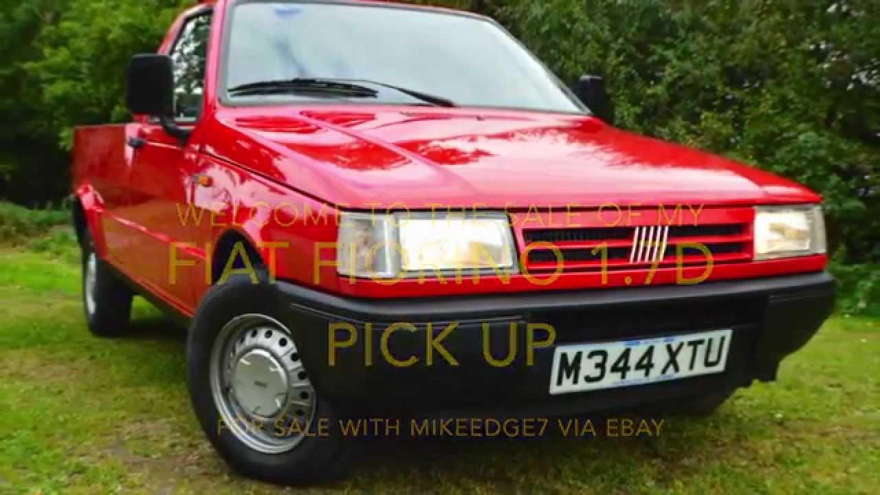 Fiat Fiorino 1.7D Pick up for sale with mikeedge7 - YouTube