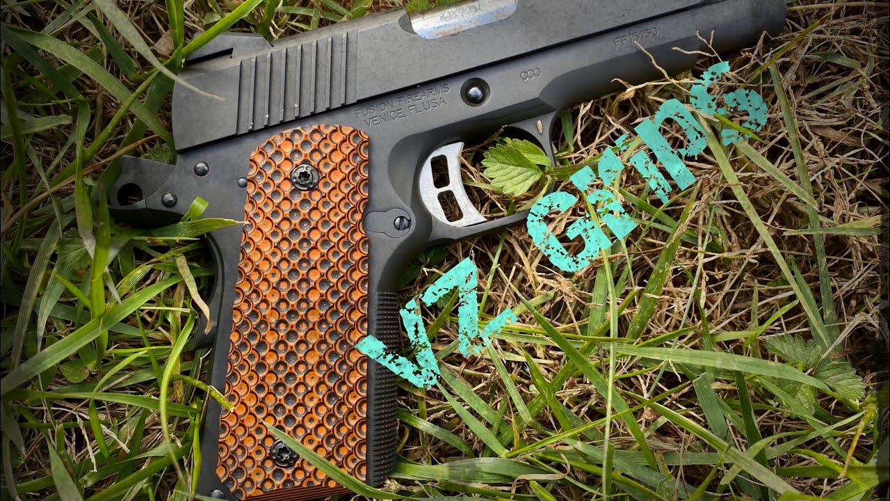 Custom 1911 grips | VZ Grips