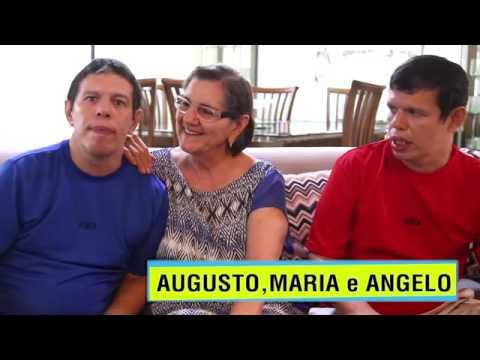 Irmãos Autistas Ângelo e Augusto fazem homenagem de dia das mães