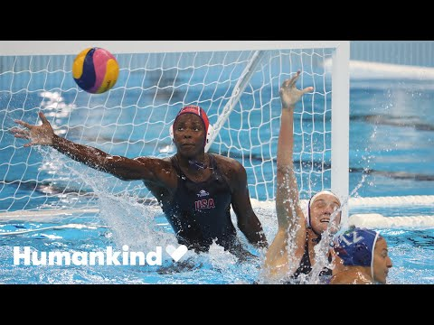 Olympian Ashleigh Johnson grew up with this as a reward   Winning Teams   Humankind